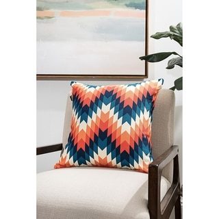 Colorful Tribal Modern Pillow (Accent - 18 x 18 - Polyester)