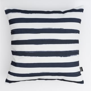 Black & White Stripes Modern Pillow
