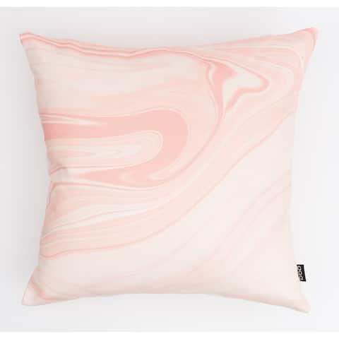 Liquid Marble Modern Pillow