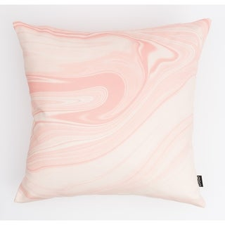 Liquid Marble Modern Pillow
