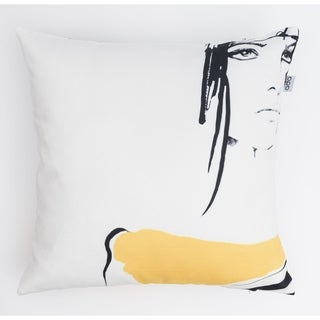 Abstract Woman Modern Pillow