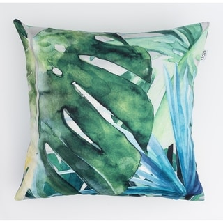 Abstract Greenery Modern Pillow