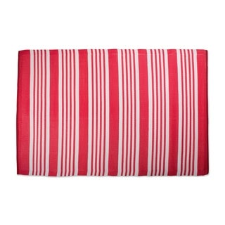 DII Multi-Striped Outdoor Rug