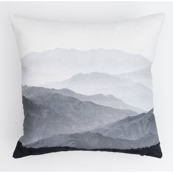 Mountains Modern Pillow