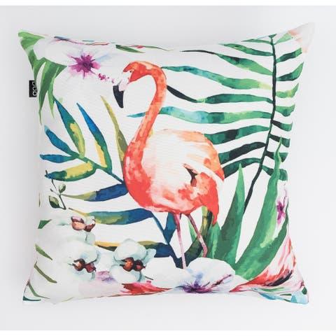 Flamingo Modern Pillow