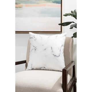 Marble Modern Pillow (Accent - 16 x 16 - Polyester)