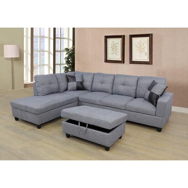 Copper Grove Kardzhali Sectional Sofa Set