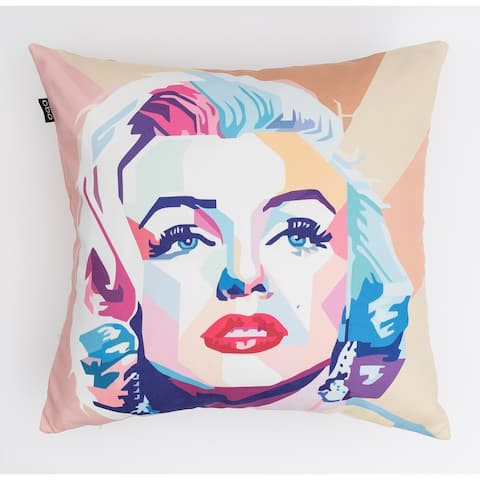 Colorful Marilyn Modern Pillow