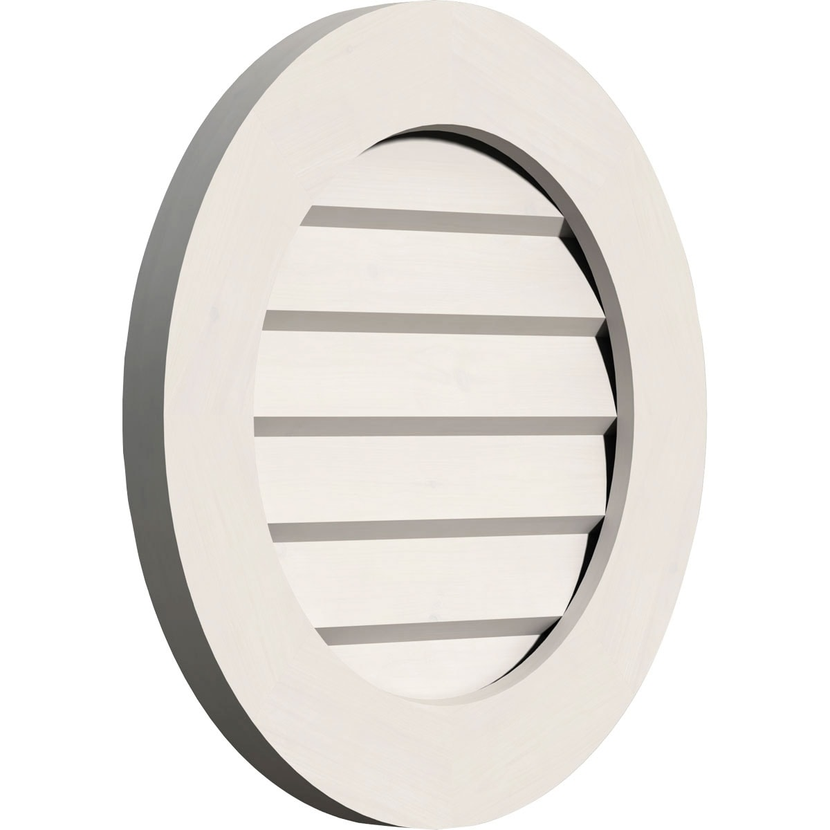Round Gable Vent (Functional / 28W x 28H)