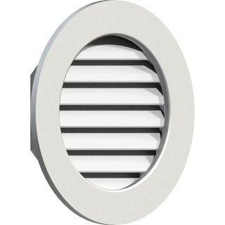 Round Gable Vent (Functional / 36W x 36H)