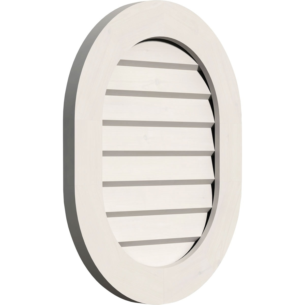 Vertical Round Ended Gable Vent (Non-Functional / 20W x 28H)