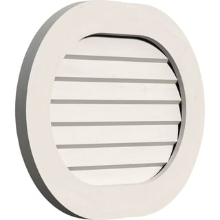 Horizontal Round Ended Gable Vent (Non-Functional / 30W x 26H)