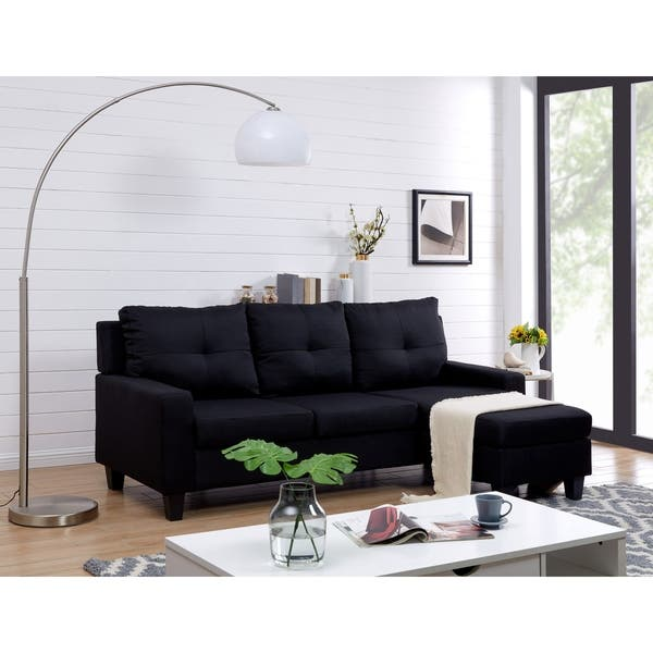Terrific Shop Vogue Reversible Sectional Free Shipping Today Gmtry Best Dining Table And Chair Ideas Images Gmtryco
