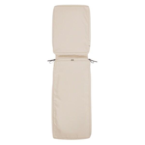 Shop Montlake Fadesafe Patio Chaise Lounge Cushion Slip Cover On