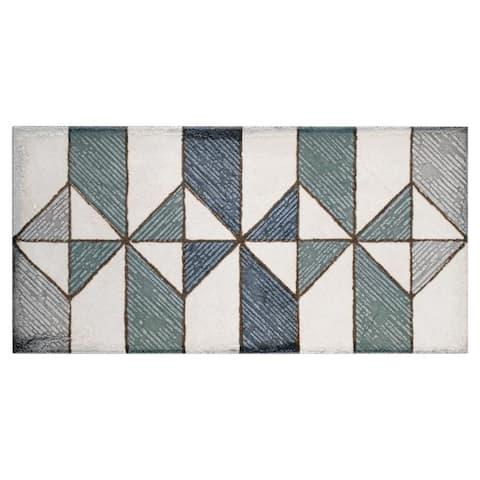 SomerTile 5.875x11.875-inch Crux Valentiina Ceramic Wall Tile