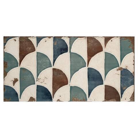 SomerTile 5.875x11.875-inch Crux Gondola Ceramic Wall Tile