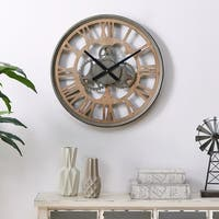 FirsTime & Co.® Antique Mills Gears Wall Clock - 24""