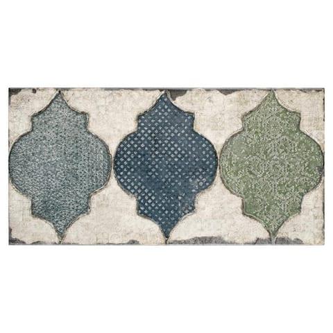 SomerTile 5.875x11.875-inch Crux Fenice Ceramic Wall Tile (22 tiles/11.17 sqft.)