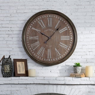 FirsTime & Co.® Carver Farmhouse Wall Clock