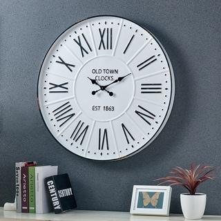 FirsTime & Co.® Farmhouse Enamel Wall Clock