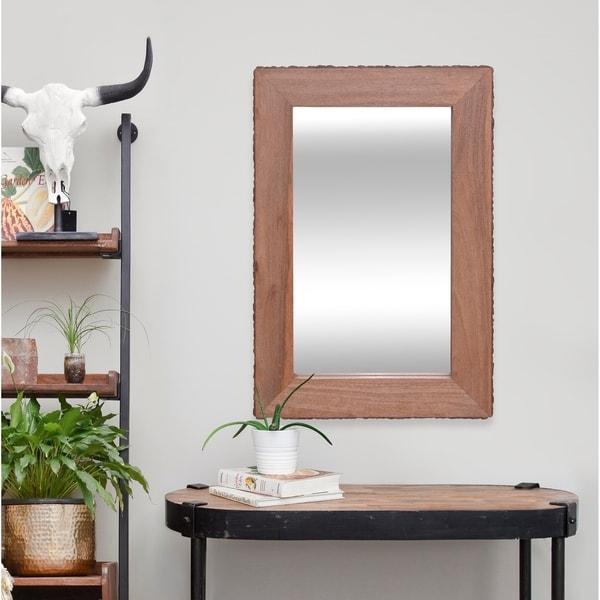 Strick & Bolton Mango Wood Mirror