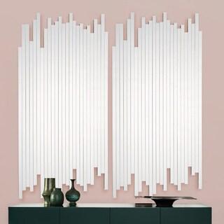 Carson Carrington Ubyn Modern Pure Glass Irregular Mirror