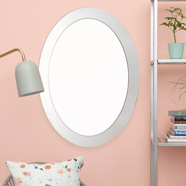 Porch & Den Balm Grove Oval Wall Mirror