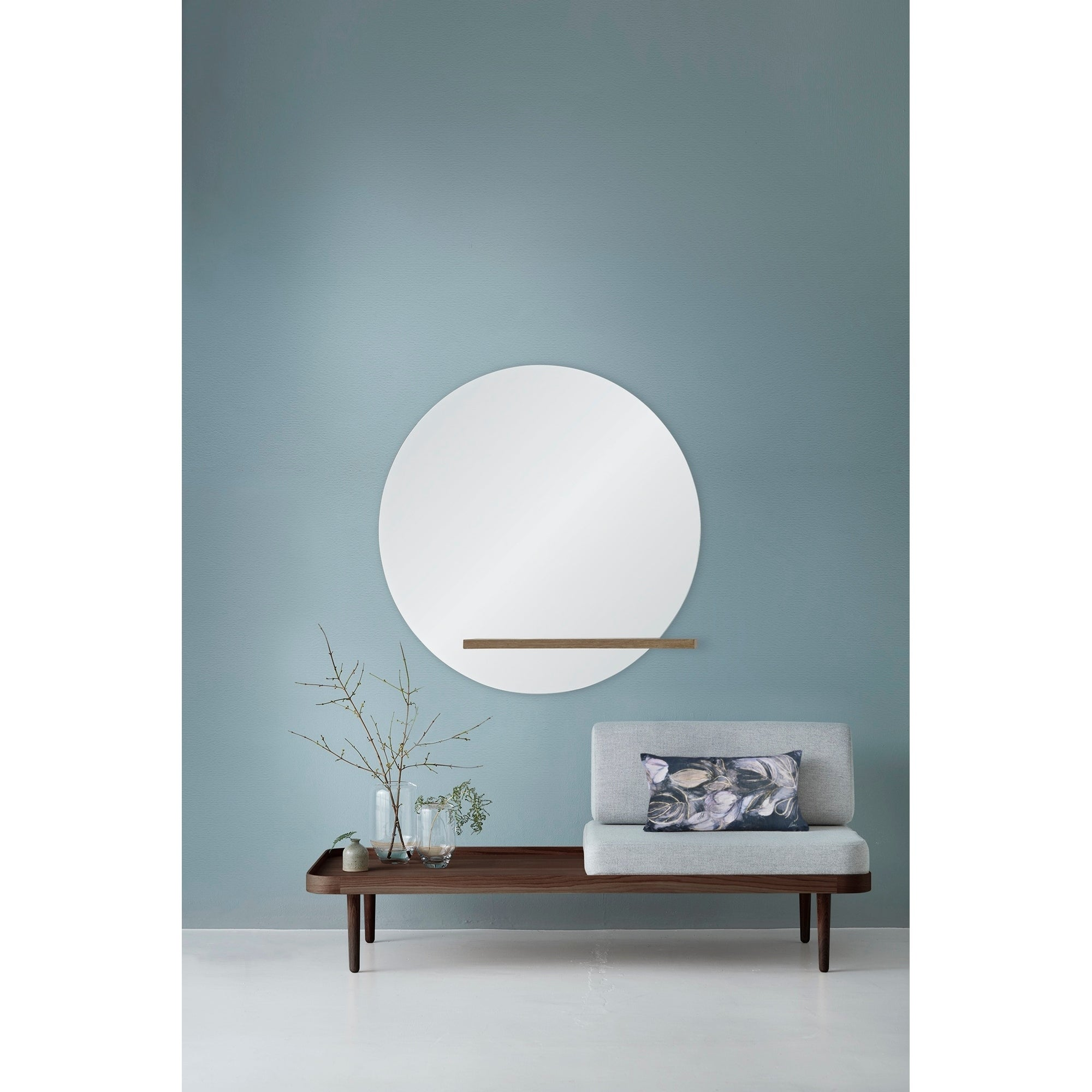 shop renwil bassett round mirror overstock 27679656 renwil bassett round mirror