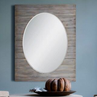 Strick & Bolton Grey Wash Rectangle-framed Mirror