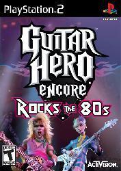 PS2 - Guitar Hero Rocks the 80's