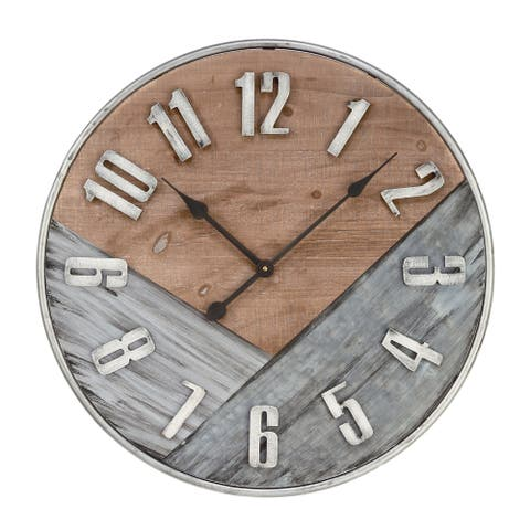 Rustic Wall Clock - 23.75