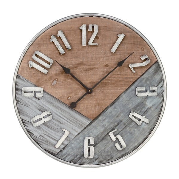 Rustic Wall Clock - 23.75. Opens flyout.