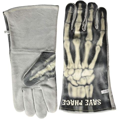 "Save Phace 3012701 ""Bones"" Welding Gloves, Size XL"