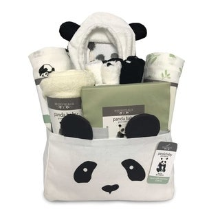 BedVoyage Rayon from Bamboo / Viscose Panda Baby Gift Essentials