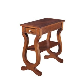 Marion Cherry Wood Chairside Table