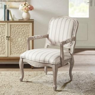 "Madison Park Charlotte Natural Accent Chair - 26.75""W x 31""D x 38.25"" H"