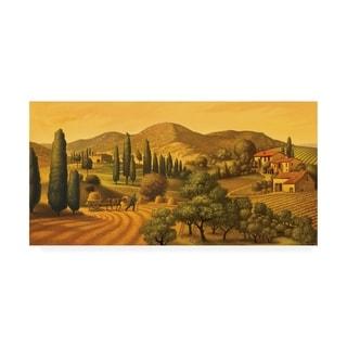 Dan Craig 'Tuscan Landscape' Canvas Art