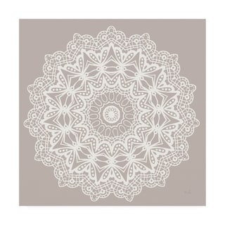 Moira Hershey 'Contemporary Lace Neutral VI' Canvas Art