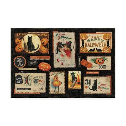Katie Pertiet 'Halloween Nostalgia I' Canvas Art