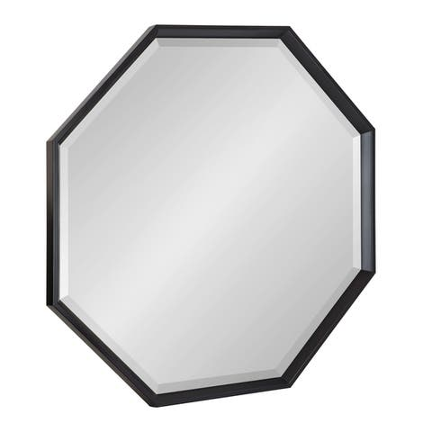 Buy Black Octagon Mirrors Online At Overstock Our Best Decorative