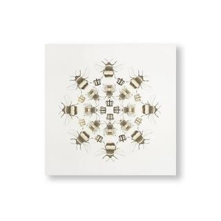 Beautiful Bees Canvas Wall Art - Yellow/Brown