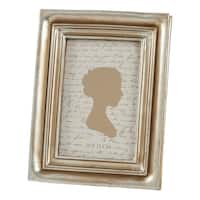 Saro Lifestyle Classic Design Picture Frame with Distressed Borders