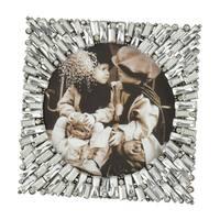 Saro Lifestyle Bejeweled Design Photo Frame