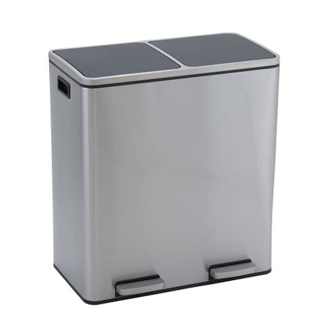 30L Maxwell Recycle Stainless Black Lid