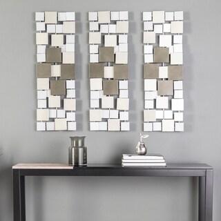 Holly & Martin Wavson Contemporary Metal Wall Sculptures (Set of 3)
