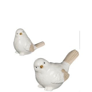 Ceramic Bird Figurines Set Of 2 On Sale Overstock 27704492