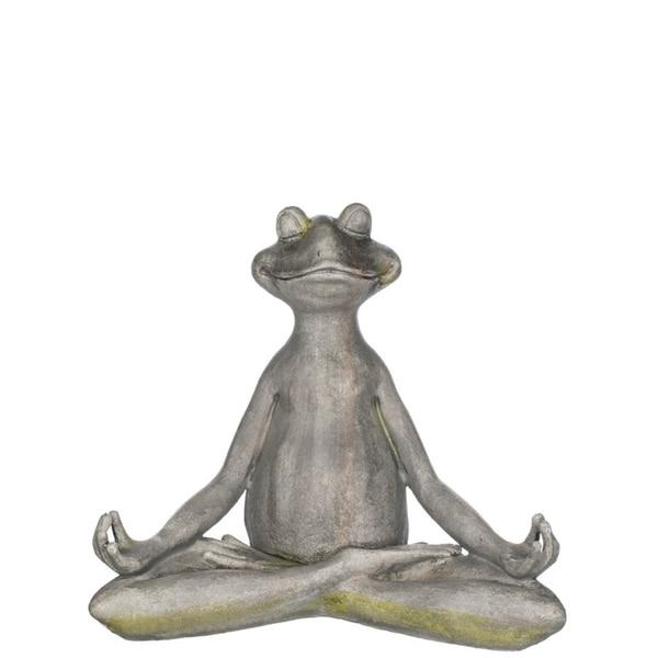 "Yoga Frog Tabletop Décor - 17""L x 10""W x 15""H"