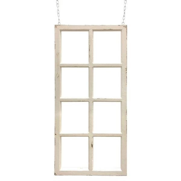 Hanging Wooden Decorative Window Frame 24 25 L X 1 5 W 51 H Free Shipping Today 27704516