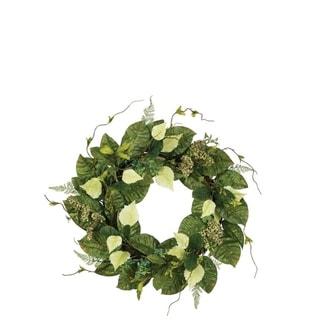 Mixed Leaf Wreath