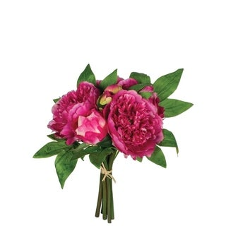 Purple & Pink Peony Bouquet